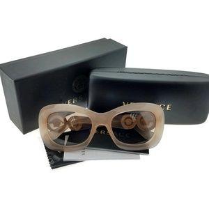 VE4328-521313 Women's Beige Frame Sunglasses